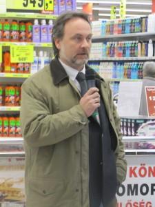 Makk Ádám, a Pető Intézet kommunikációs vezetője